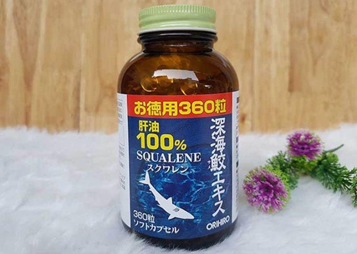 Viên uống sụn vi cá mập Orihiro Squalene có tác dụng điều trị thoái hóa hiệu quả