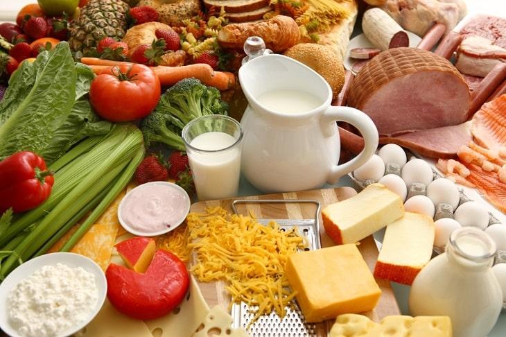 Chế độ ăn uống đóng vai trò rất quan trọng