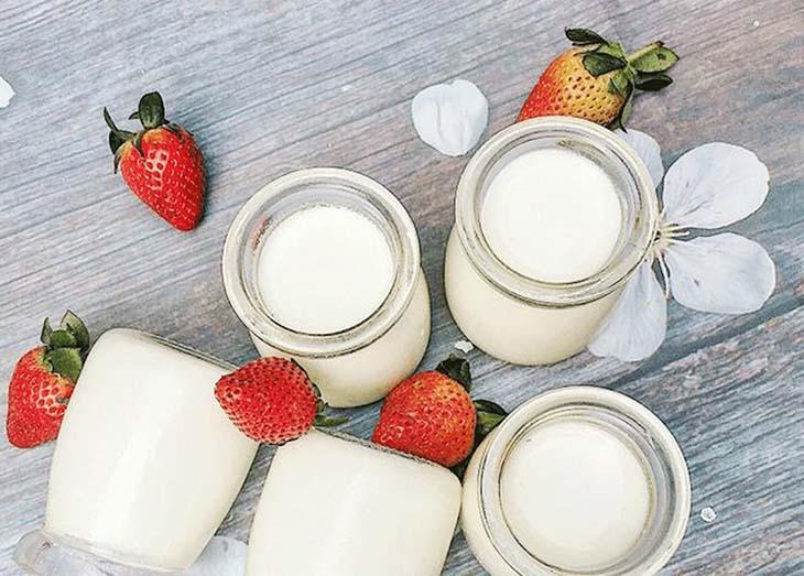 Sữa chua rất tốt cho bệnh nhân đau dạ dày