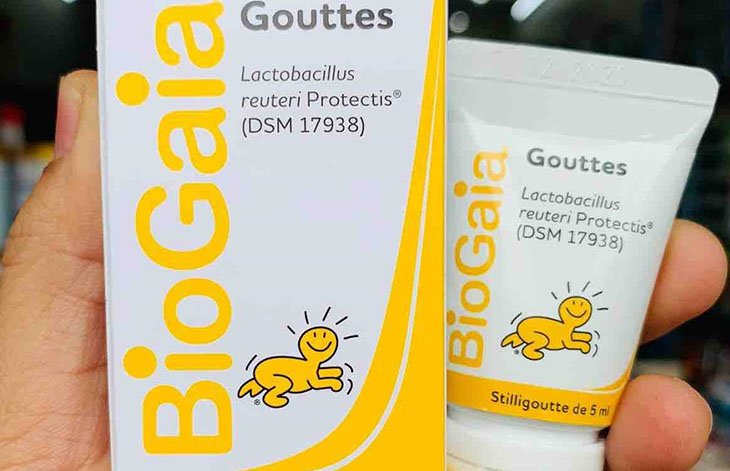 BioGaia Protectis Baby với lợi khuẩn tốt cho tiêu hóa của trẻ nhỏ
