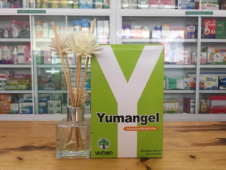 Thuốc chữa đau dạ dày cho trẻ em Yumangel