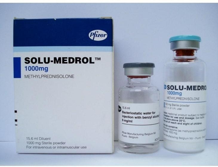 Thuốc tiêm Solu medrol sử dụng trong trường hợp cấp tính