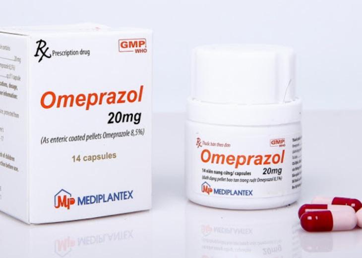 Omeprazole chữa viêm loét dạ dày hiệu quả