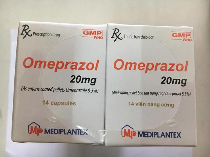Omeprazole 20mg giúp trị đau dạ dày