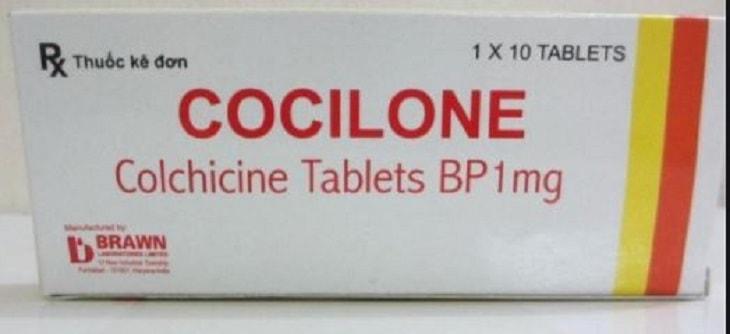 Thuốc cocilone dùng cho bệnh nhân bị viêm khớp cổ chân do sự lắng đọng acid uric