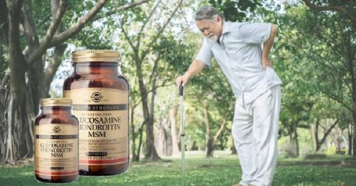 Glucosamine Chondroitin MSM Solgar được đóng gói rất đẹp mắt và sang trọng