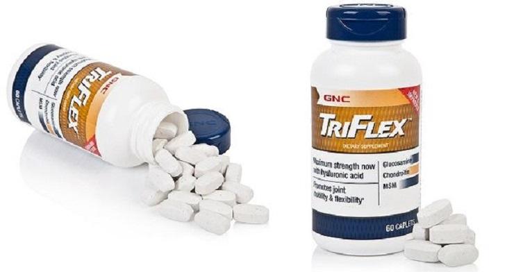 GNC Triflex Promotes Joint Health là loại thuốc người bị đau khớp gối không nên bỏ qua