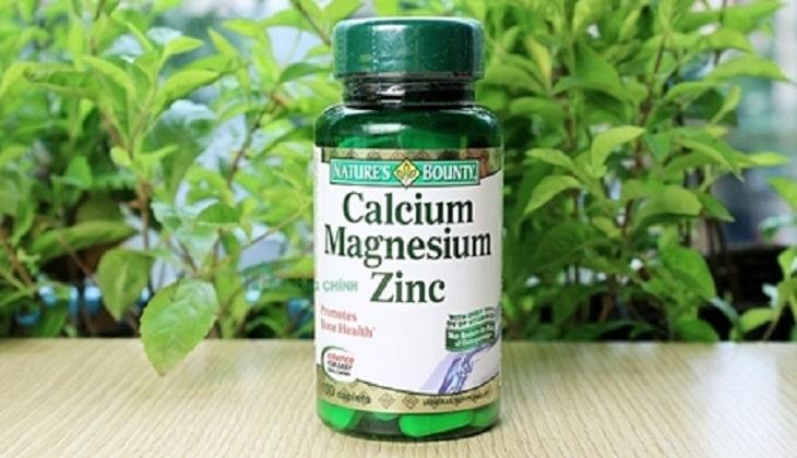 Nature's Bounty Calcium Magnesium Zinc trên thị trường Việt được rất nhiều người tin dùng