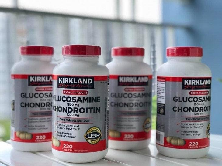 Kirkland Glucosamine & Chondroitin - Thuốc trị đau khớp gối của Mỹ rất tốt