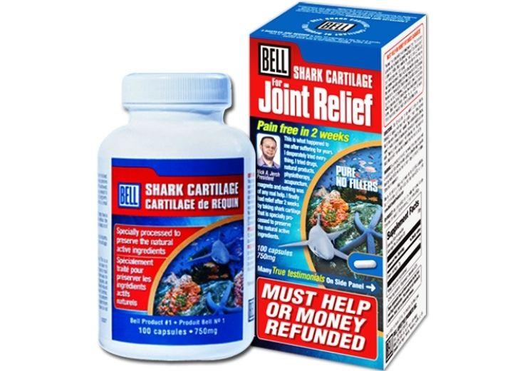 Thuốc trị thoái hóa cột sống lưng Bell Shark Cartilage