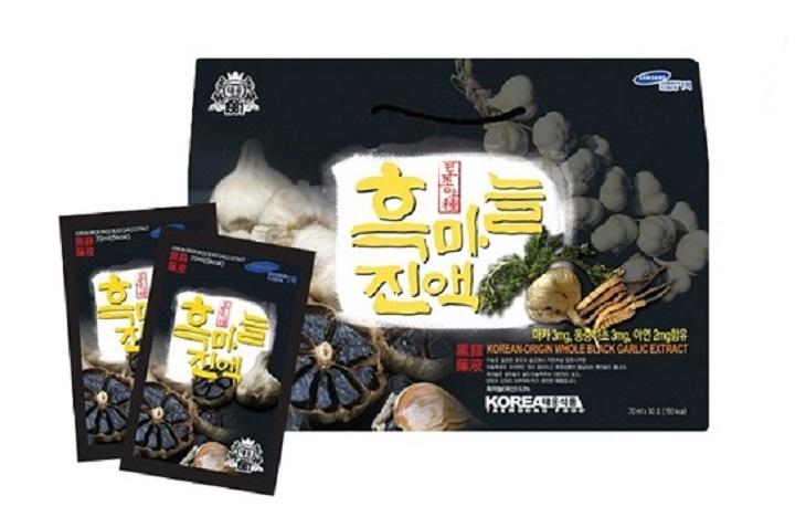 Tinh chất tỏi đen đông trùng hạ thảo Taewoong được nhiều người tin dùng
