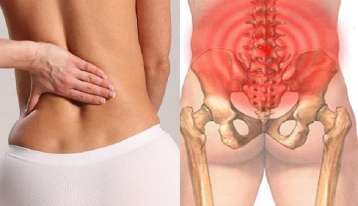Tỳ thận dương hư gây đau ở vùng eo, lưng và chi dưới