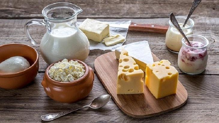 Sữa và các chế phẩm được khuyến cáo hạn chế sử dụng