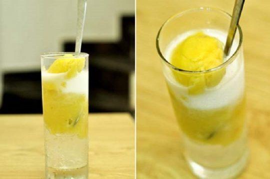 ăn sầu riêng uống nước dừa