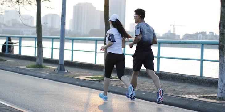 Chạy bộ vừa tăng cường sức khỏe vừa hỗ trợ phục hồi chức năng vận động
