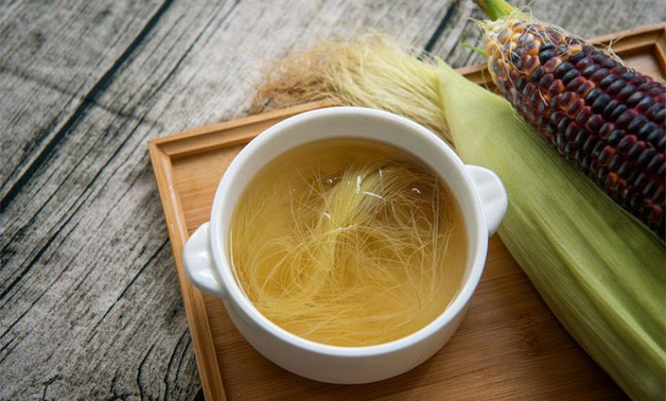 Râu ngô cũng là một trong những thực phẩm mang dược tính cao