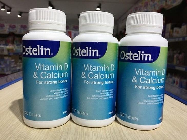 Canxi Ostelin được khuyên dùng hiện nay