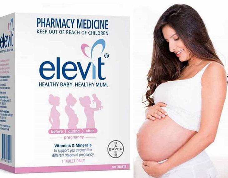 Uống Elevit đúng cách để hấp thụ tốt hơn