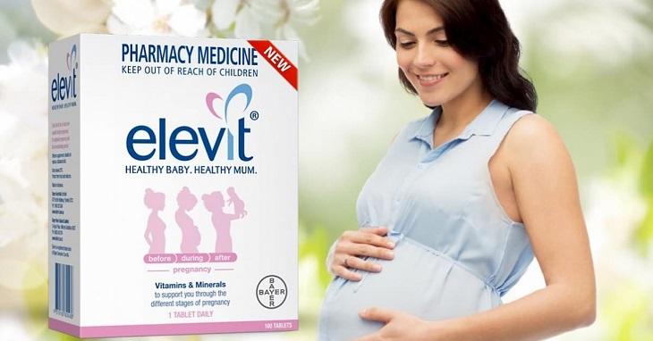 Sau khi sinh các mẹ vẫn có thể uống Elevit để bổ sung chất cho cơ thể