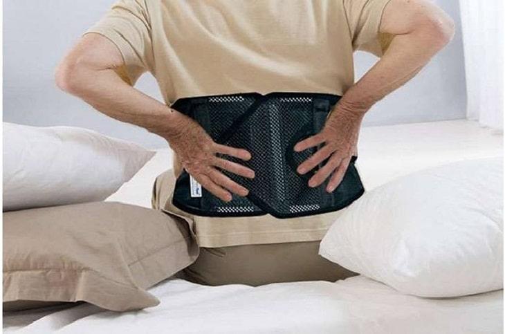 Đai lưng hỗ trợ rất nhiều cho người bệnh