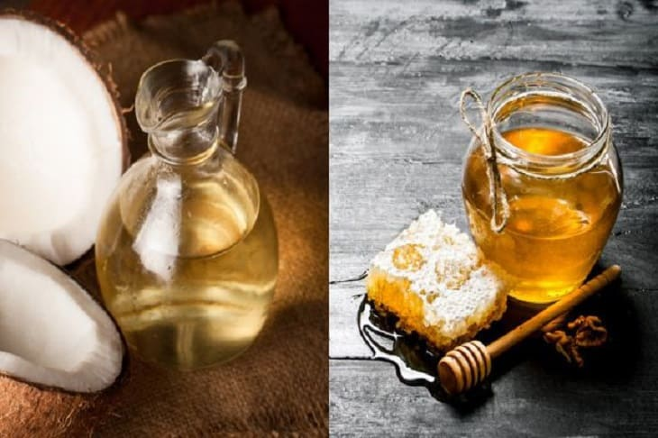 Mẹo kết hợp dầu dừa với mật ong chữa bệnh da liễu