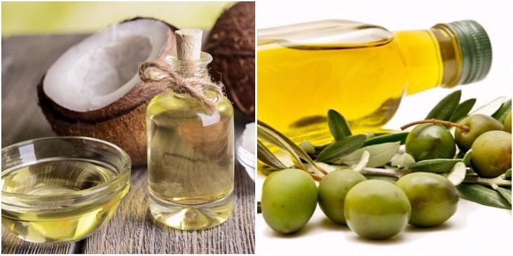 Công thức chữa bệnh viêm da từ dầu dừa và dầu oliu