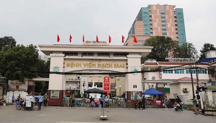 Bệnh viện Bạch Mai là địa điểm nên đến thăm khám