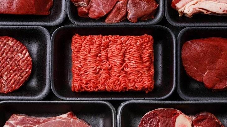 Không dùng những loại thịt màu đỏ