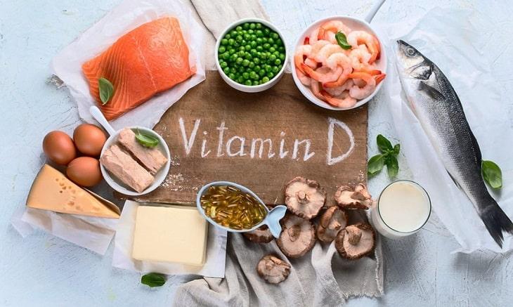 Tăng cường thực phẩm chứa nhiều Vitamin D