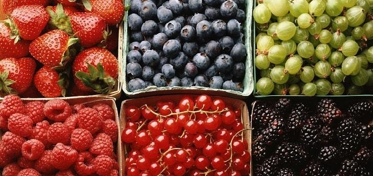 Các loại rau củ quả nhiều chất chống oxy hóa