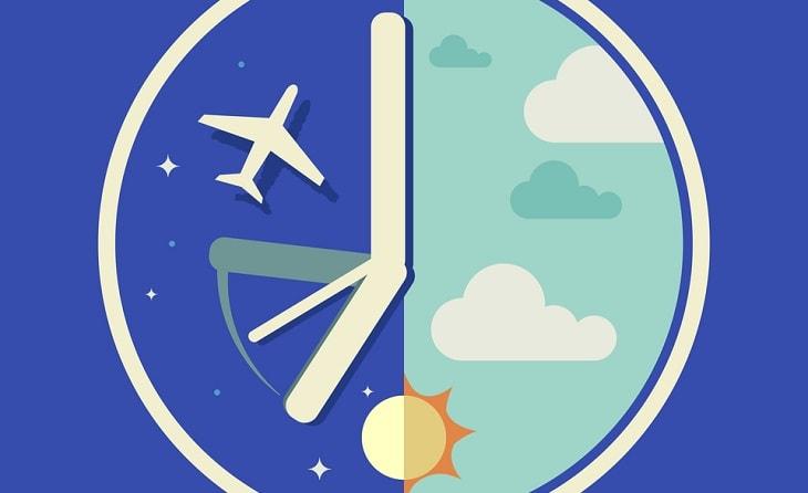 Jet lag là hội chứng có liên quan mật thiết đến sự thay đổi đồng hồ sinh học
