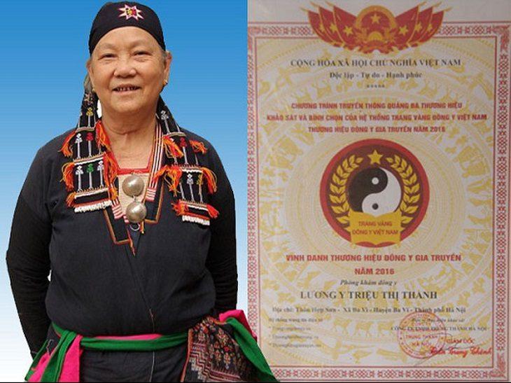 Thầy thuốc Triệu Thị Thanh nổi tiếng trong điều trị thành công bệnh dạ dày