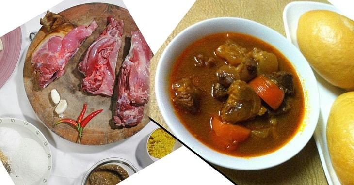 Thịt dê hầm cà rốt là món ăn cung cấp nhiều chất dinh dưỡng cho cơ thể