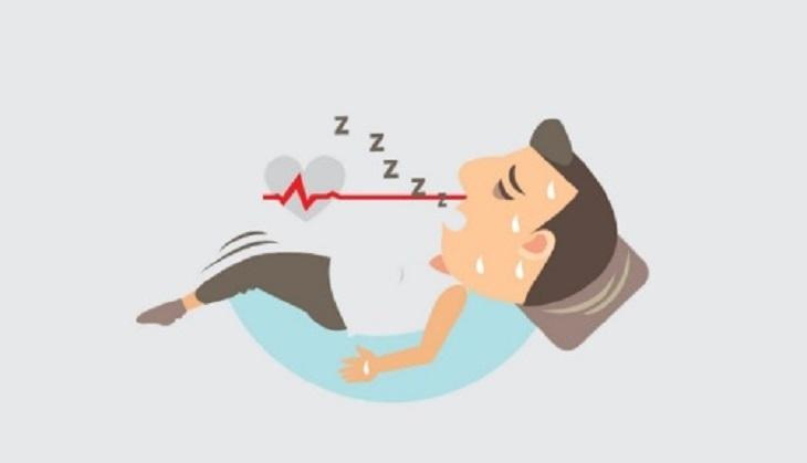 Ngủ ngáy là một trong những dấu hiệu điển hình của hội chứng ngưng thở khi ngủ