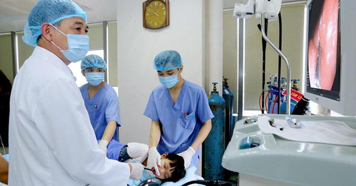 Nội soi dạ dày cho trẻ em dùng khám và chữa bệnh