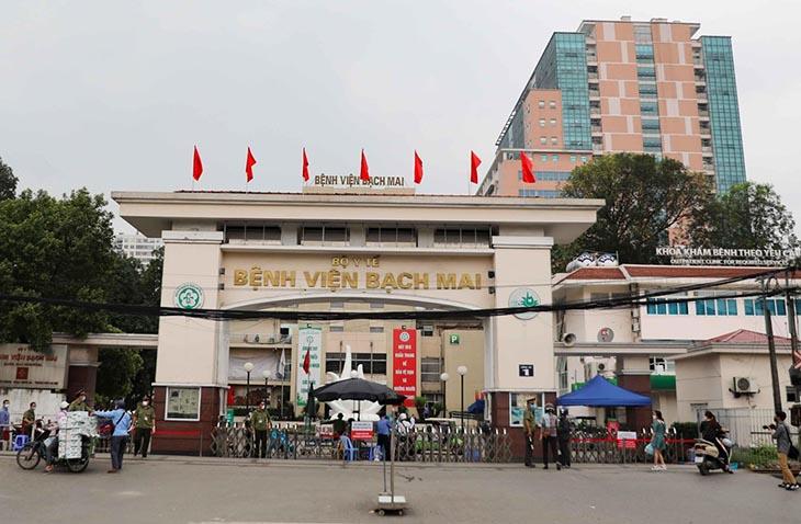 Bệnh viện Bạch Mai là một trong những địa chỉ nội soi uy tín