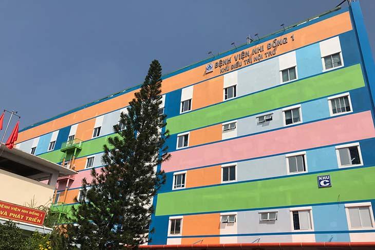 Bệnh viện Nhi Đồng 1 nổi tiếng