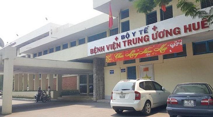 Bệnh viện Trung Ương Huế là bệnh viện điều trị Tây y được thành lập đầu tiên tại Việt Nam