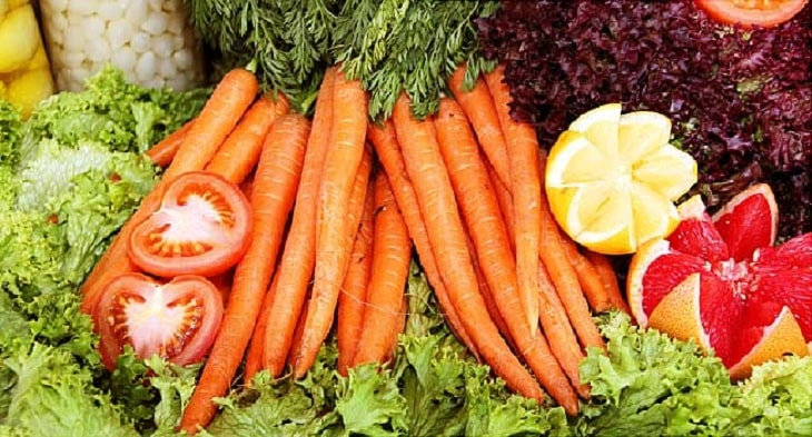 Nhóm thực phẩm chứa beta caroten nên dùng thường xuyên