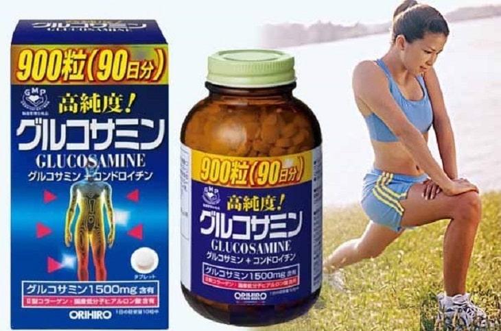 Thuốc hỗ trợ điều trị Glucosamine Orihiro rất tốt cho sức khỏe