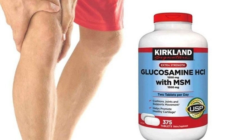 Glucosamine HCl 1500 Kirkland là lựa chọn hàng đầu