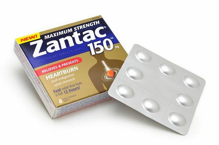 Thuốc đau dạ dày Zantac cũng rất được người bệnh tin tưởng, sử dụng phổ biến