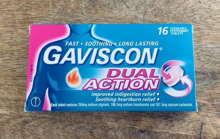 Thuốc kháng axit dạ dày Gaviscon được xem là khá an toàn với phụ nữ mang thai giai đoạn sau