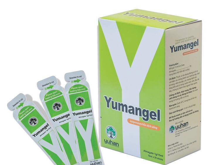 Thuốc dạ dày dạng sữa Yumangel giúp dứt nhanh các cơn đau, hỗ trợ điều trị bệnh dạ dày