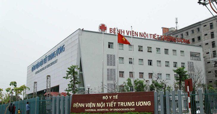 Bệnh viện Nội tiết Trung ương là một trong những cơ sở chữa bệnh uy tín tại Hà Nội