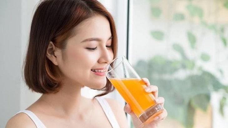 Uống nước cam có tác dụng gì? - Tốt cho hệ tiêu hóa