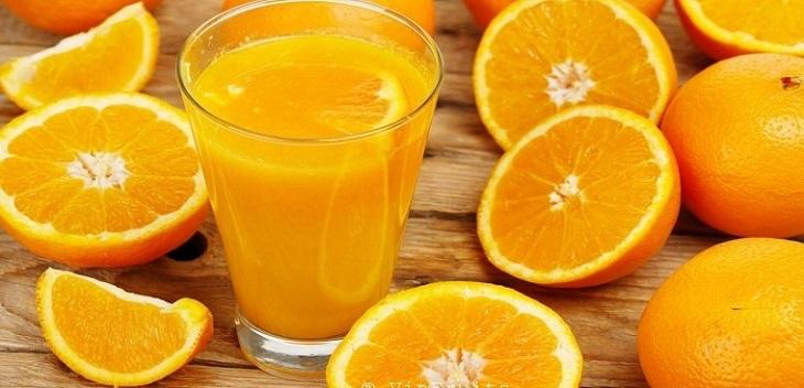 Nước cam giúp cân bằng lượng Cholesterol trong cơ thể về mức cân bằng