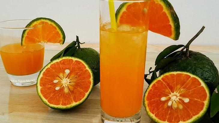 Nước cam kích thích quá trình sinh sản của nam giới