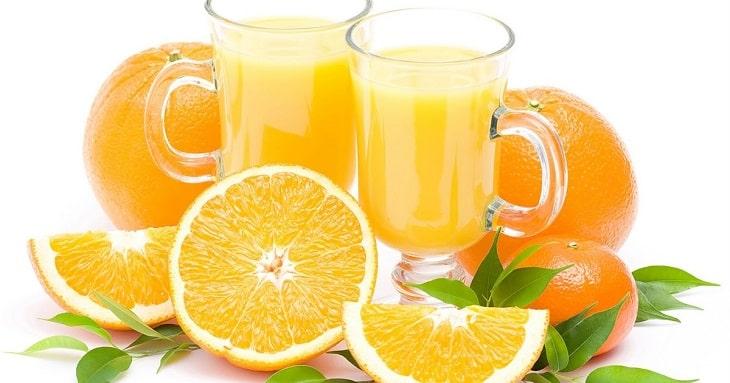 Uống nước cam có tác dụng gì? - Hỗ trợ điều trị thiếu máu