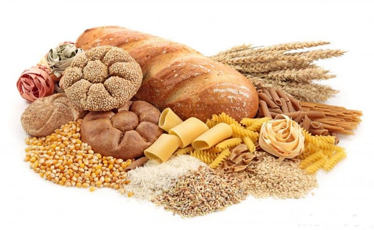 Viêm da cơ địa kiêng gì - Thực phẩm có chứa nhiều tinh bột